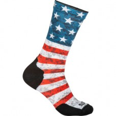 Sock & Amp Awe Crew American Flag