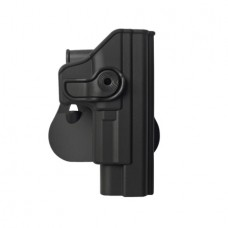 IMI-Z1180 - Polymer Retention Roto Holster for Springfield XD 9mm/.40/.45, and XDM 9mm