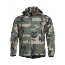 Artaxes Soft-Shell Jacket Woodland