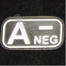 A -, Αυτοκόλλητο Σήμα από PVC (Μαύρο-Λευκό)