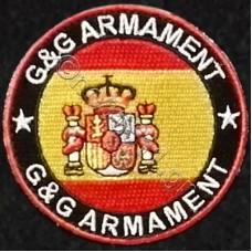 G & G Armament Spain, Αυτοκόλλητο Σήμα από Ύφασμα