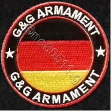 G & G Armament Germany, Αυτοκόλλητο Σήμα από Ύφασμα