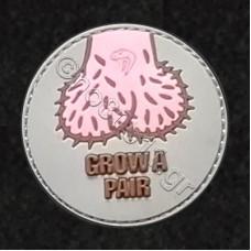 Grow A Pair, Αυτοκόλλητο Σήμα από PVC