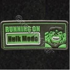Running On Hulk Mode, Αυτοκόλλητο Σήμα από PVC