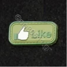 Like, Αυτοκόλλητο Σήμα από PVC (Πράσινο)