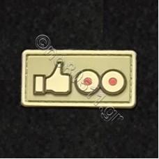 Like Titties, Αυτοκόλλητο Σήμα από PVC (Χακί)