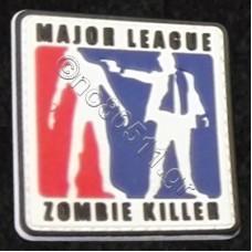 Major League Zombie Killer, Αυτοκόλλητο Σήμα από PVC
