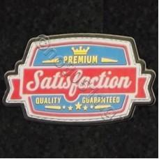 Satisfaction,  Αυτοκόλλητο Σήμα από PVC