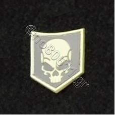 Death Skull, Αυτοκόλλητο Σήμα από PVC