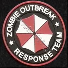 Zombie Outbreak Response Team, Αυτοκόλλητο Σήμα από PVC