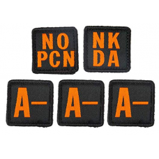 5.11 Tactical Blood Type Patch Kit A Negative