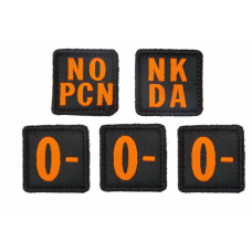 5.11 Tactical Blood Type Patch Kit 0 Negative