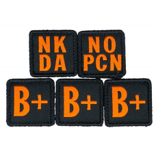 5.11 Tactical Blood Type Patch Kit B Positive
